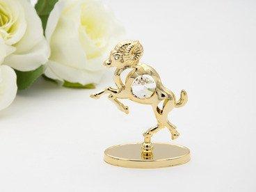 Baran zodiak figurka z kryształami Swarovski GRAWER prezent