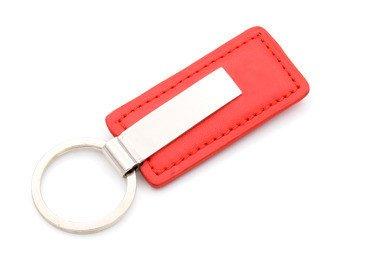 Brelok Breloczek do kluczy Czerwony Prezent GRAWER