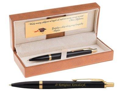 Parker Urban Długopis Muted Black GT Grawer