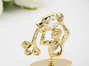 Wodnik zodiak figurka z kryształami Swarovski GRAWER prezent