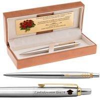 Długopis Parker Jotter stalowy GT Grawer