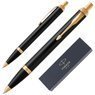 Długopis Parker IM Czarny GT 1