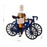 Komplet 7-częściowy Karafka i kieliszki Rower kolarski z Grawerem 3