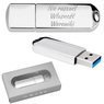 Pendrive chrom 64 GB Pamięć USB 3.0 prezent z Grawerem 1