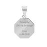 Srebrny medalik z Matką Boską / srebro 925 / Grawer 5
