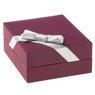 Srebrny wisiorek z łańcuszkiem pr. 925 serce z szafirową cyrkonią z Dedykacją 8