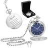 Zegarek Kieszeniowy Busola Prezent Urodziny Grawer 7