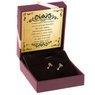 Złote kolczyki pr. 585 mała kulka Prezent z Dedykacją 2