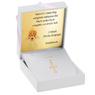 Złoty krzyżyk pr. 585 z Grawerem i Dedykacją / prezent na I Komunie Św., Chrzest Św./ w pudełku z różową kokardką 2
