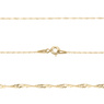 Złoty medalik z łańcuszkiem próba 585 z wizerunkiem Matki Boskiej Chrzest Komunia Bierzmowanie GRAWER niebieska kokardka 4